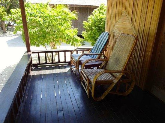 Pom Pom Island Resort & Spa: terrasse beach villa 3