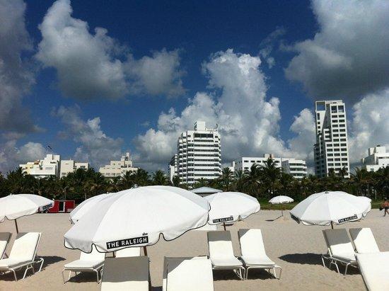 The Raleigh Miami Beach : plage