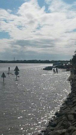 Le Passage du Gois : Toujours impressionnant la montée des eaux!!!