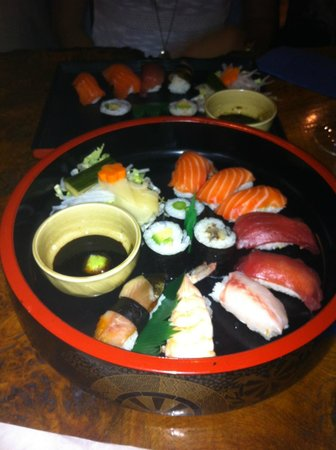 Little Tokyo: The nicest part was the Nigiri although nothing ground breaking