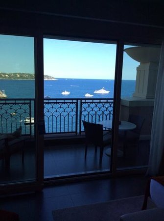 Monte-Carlo Bay & Resort: vista mare dal decimo piano