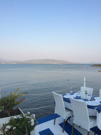 Venosa Beach Resort & Spa: View from Turkish A La Carte Restaurant