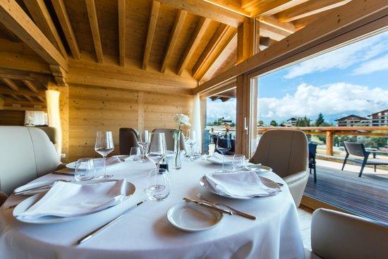 Hotel Nendaz 4 Vallees & Spa : Restaurant