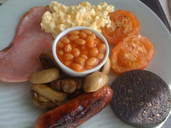 Buxton House: My Welsh breakfast