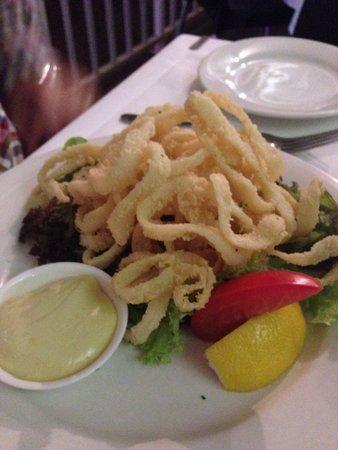 Piccolo Cucina: Calamari!!