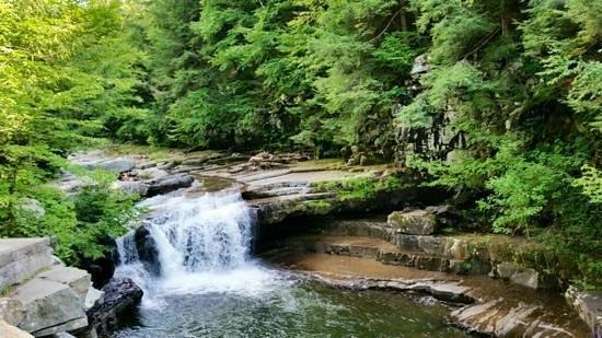 Bristol, VT: the falls