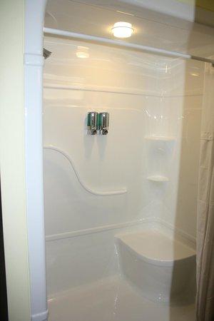 Four Winds Motel: shower