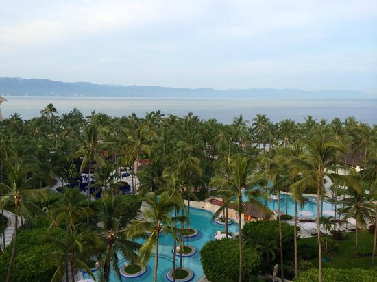 The Westin Resort & Spa Puerto Vallarta: View from our hotel room - 806