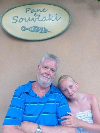 Pane e Souvlaki: Dad and Bethan
