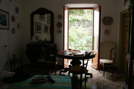 Ca' de Capun Camere Franco : вид на балкончик