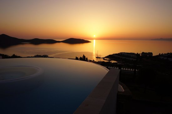 Elounda Gulf Villas & Suites: Рассвет