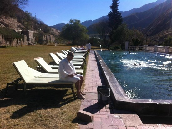 Hotel & Spa Termas Cacheuta: Visual maravilhoso