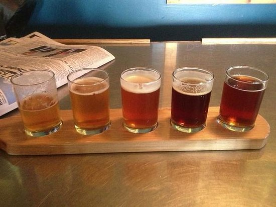 Grand Teton Brewing Company: Beer sampler
