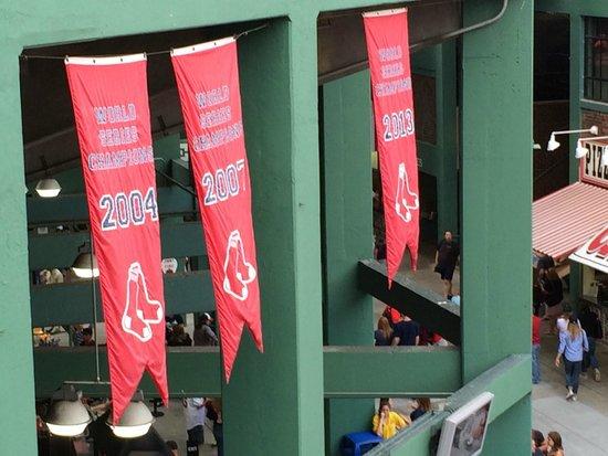 Fenway Park: Championship Banners