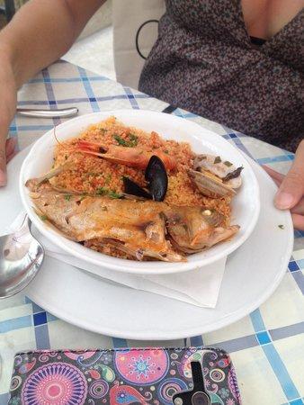 Tana del Lupo: Cous cous di pesce