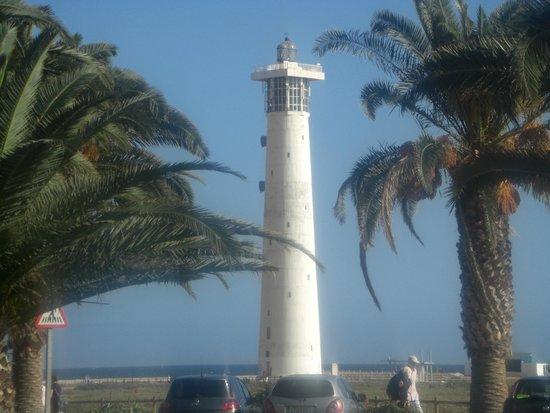 IFA Altamarena Hotel : Vom Hotel aus zu sehen - der Leuchtturm
