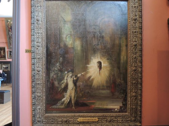 Musee Gustave Moreau : 出現