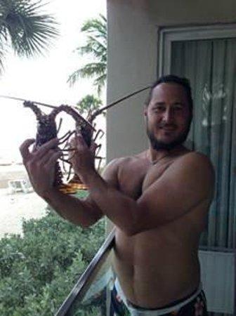 Casa Marina Key West, A Waldorf Astoria Resort: Lobster Before