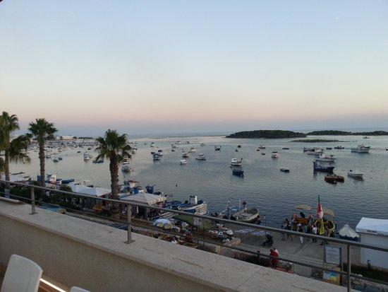 Hotel Grecale : vista terrazza