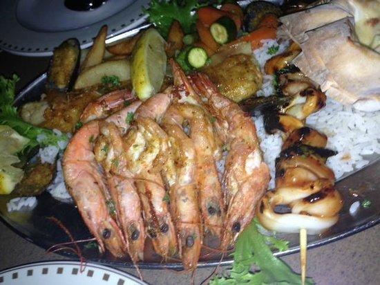 Al Pescatore: Seafood Platter
