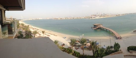 Sofitel Dubai The Palm Resort & Spa : View from our room