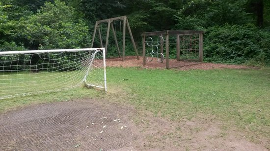 Ruthern Valley Holidays: great play area