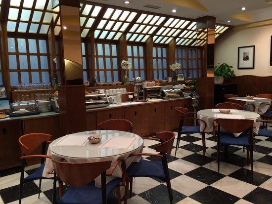Hotel Cordon: Bkfst room