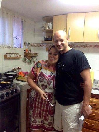 Casa Viel: Milo in cucina, platano fritto in cottura! :)