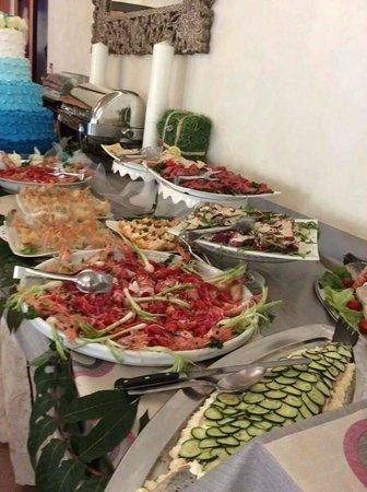 Hotel Villa Paola: Buffet pranzo e cena