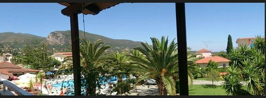 Alykes Garden Village: View from Balcony (Room Soula 5)