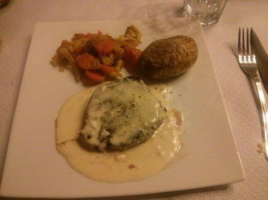 Da Mama: Boeuf au fromage corse menu isula