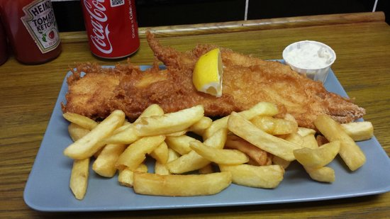 Baileys Fish and Chips: große Portionen