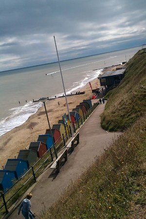 The Manor Hotel: Mundesley Beach Looking South