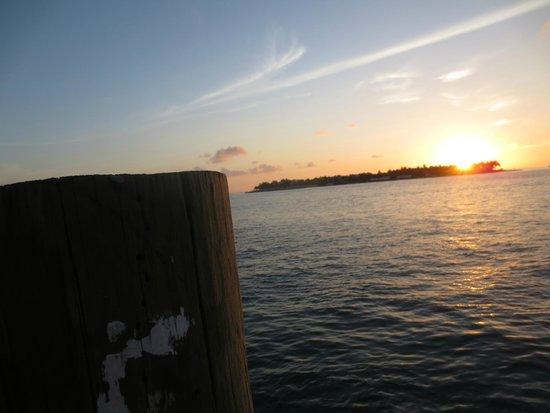 Key West Marriott Beachside Hotel: Sunset in Key West