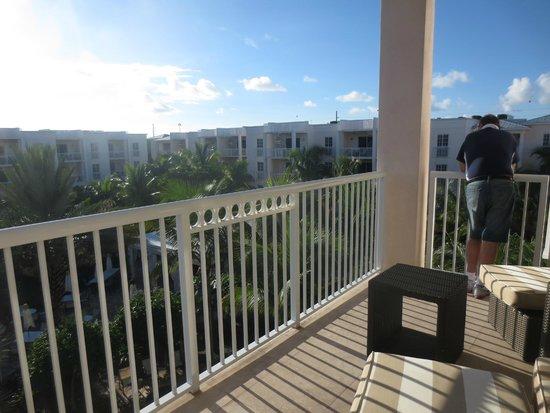 Key West Marriott Beachside Hotel: Terrace