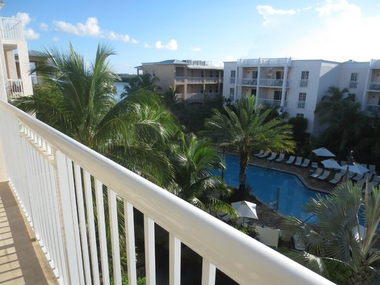 Key West Marriott Beachside Hotel: The View from our Terrace