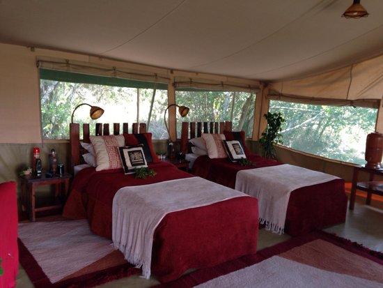 Kicheche Laikipia Camp: Twin room