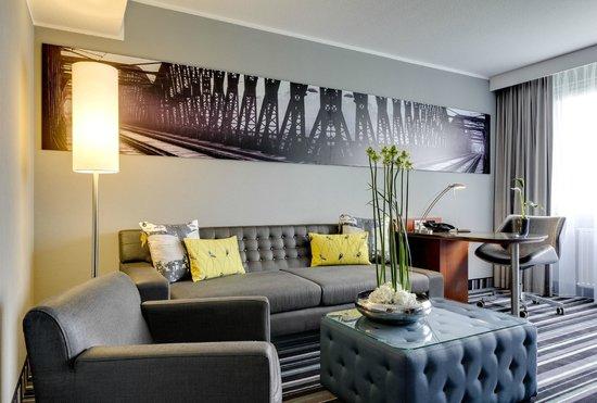 Radisson Blu Hotel Dortmund Wohnzimmer Suite
