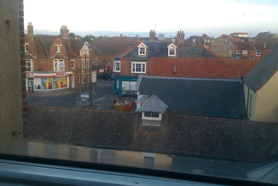 The Manor Hotel: View from Room 21