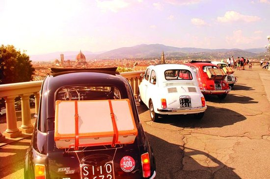 My Tour Tuscany Experts : 500 Vintage Tour