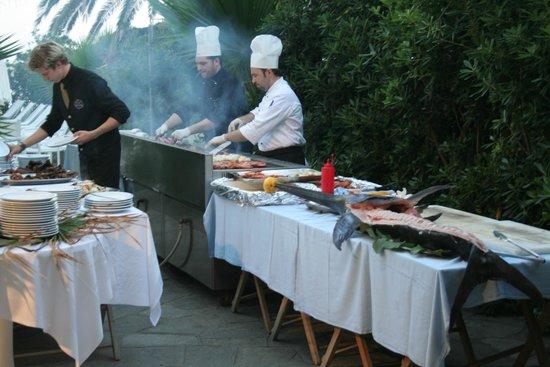 Hotel Caravelle Talasso e Benessere: grigliata