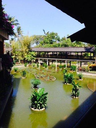 Club Med Bali: Vue de notre chambre sur le lac