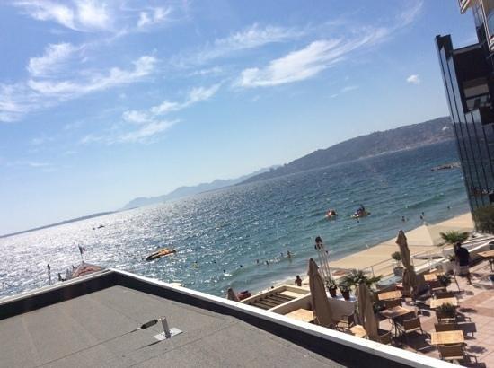 Garden Beach Hotel : terrazza colazione