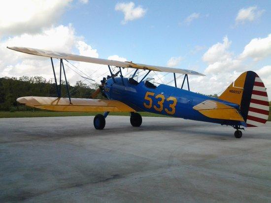 Vintage Aeroplane Europe AB: Biplano PT17 Stearman
