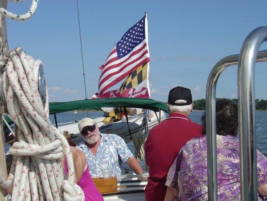 Blue Crab Chesapeake Charters : Captain