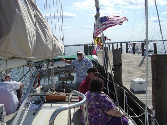 Blue Crab Chesapeake Charters : On board