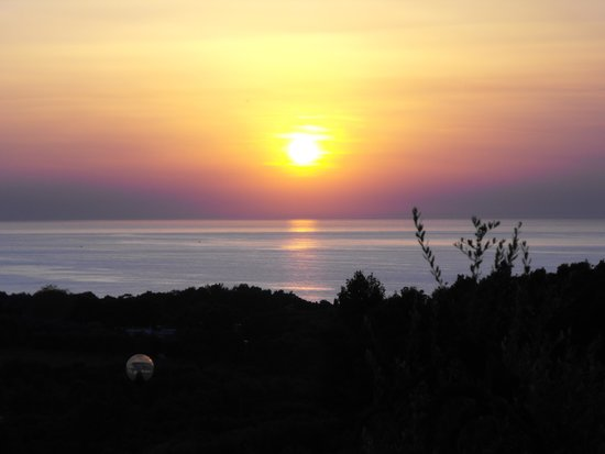 Albergo 2 Pini: tramonto