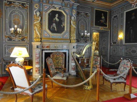 Château de Cheverny : Interior do Castelo.