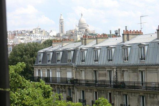 Mercure Paris Montmartre Sacre Coeur: Blick aus dem Zimmerfenster
