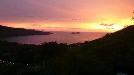 Villas Sol Hotel & Beach Resort: Sunset from the Villas